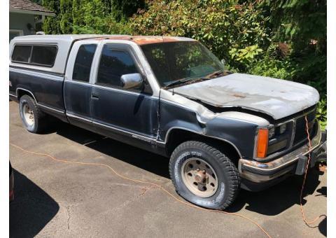 1988 GMV High Sierra 2500