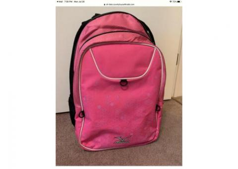 Girls volleyball backpack